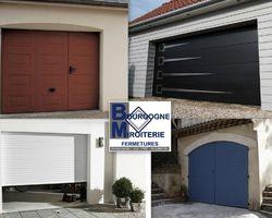 Bourgogne Miroiterie Fermetures - Saint-Loup-de-Varennes - Porte de garage